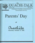 October 1, 1993 by Office of Student Services
