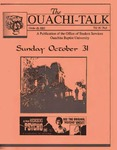 October 29, 1993 by Office of Student Services