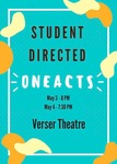 Student Directed One Acts by Theatre Department