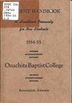 Student Handbook 1954-1955