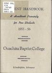 Student Handbook 1955-1956