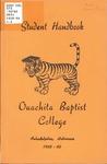 Student Handbook 1959-1960