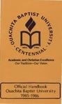 Official Handbook 1985-1986