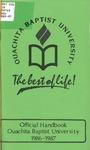 Official Handbook 1986-1987