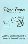 Tiger Tunes 1984 by Ouachita Student Foundation