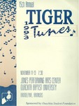 Tiger Tunes 1993 by Ouachita Student Foundation