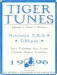 Tiger Tunes 1996 by Ouachita Student Foundation
